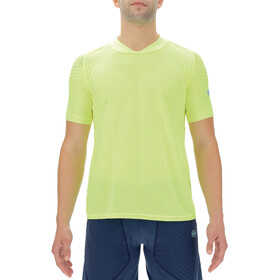 UYN City Shortleeves Running Shirt Men, yellow fluo